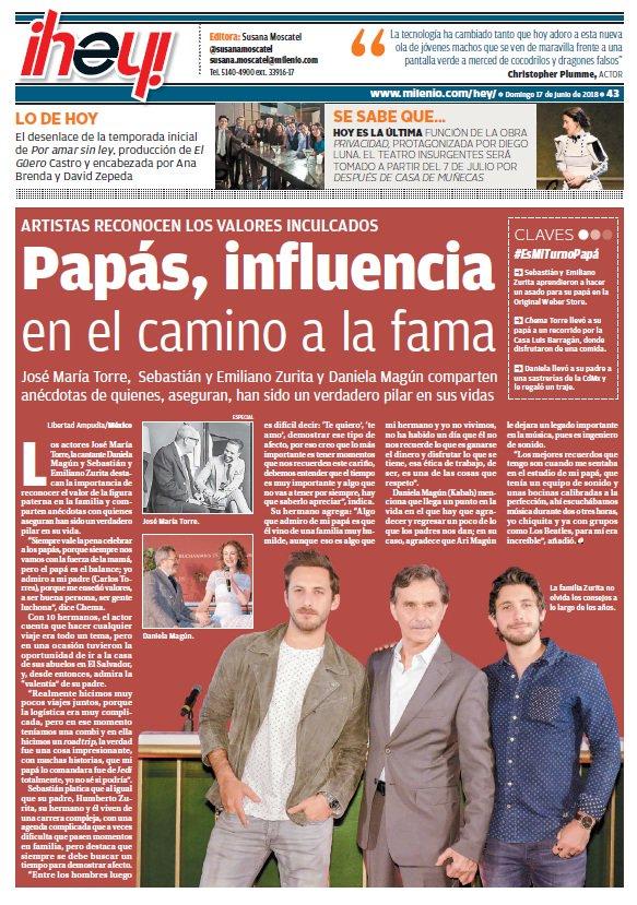 #BuenDomingo ��   Te compartimos la portada de @Milenio diario ���� https://t.co/z1aROX0dCK https://t.co/CIBUQtMFbF