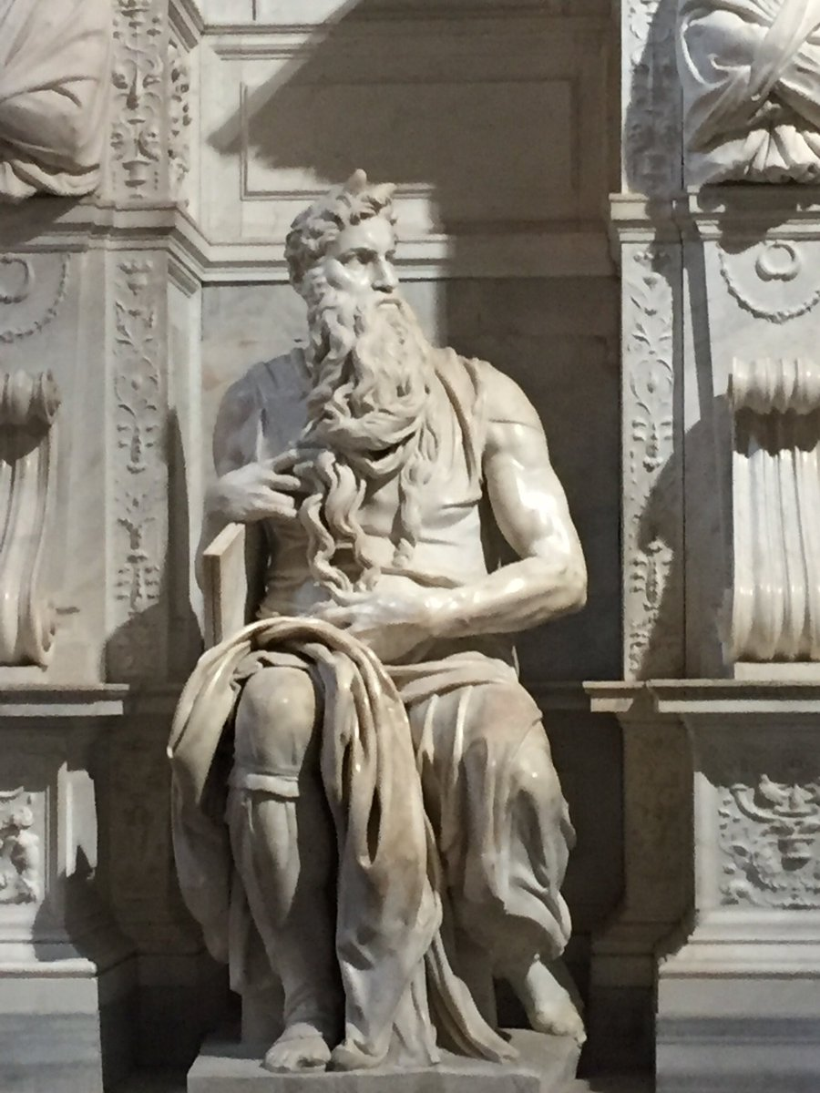 #Sanpietroinvincoli #Mosè #Michelangelo #Romeisus @caputmundiHeidi @gori_magnani @AutariKonig @taxistalobbysta @taddeocico