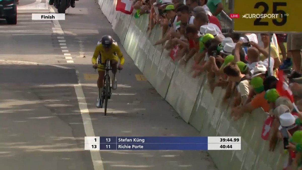 Richie Porte wint Ronde van Zwitserland 2018, Stefan Küng pakt dagzege
