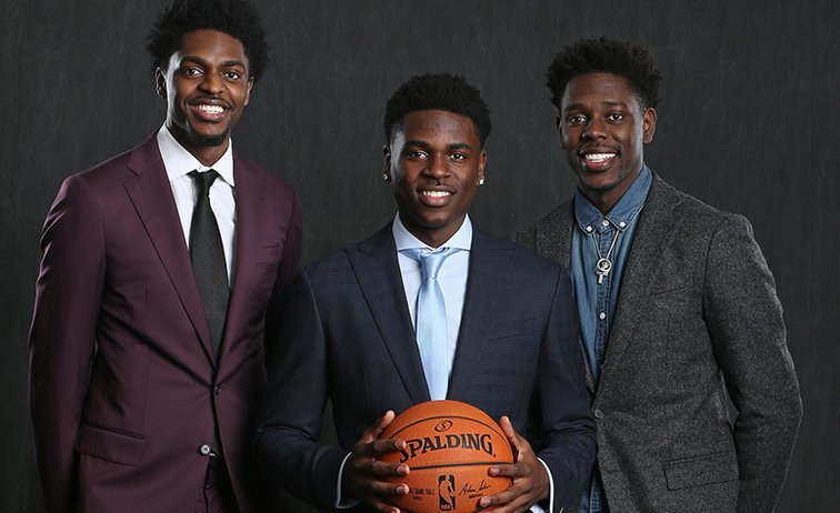 This Fathers Day might be one for the history books for Shawn Holiday. With just a few days away from the draft, Holiday is on the verge of having not one, not two, but THREE sons in the NBA. #HappyFatherDay READ: on.nba.com/2MwwbVk