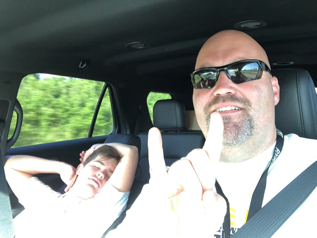 c097e97f4b9 Happy Fathers Day to every dad out there. Z and I are headed to the Lou for   GriffonFootball camp. Have a blessed day!  BallTilYouFallpic.twitter.com   ...