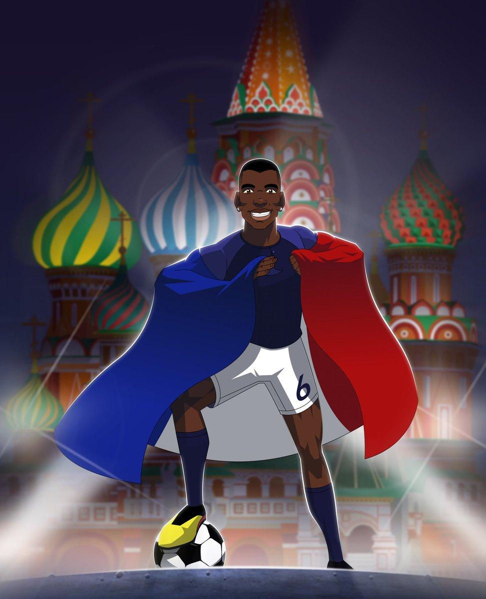 Allez les Bleus!! 🇫🇷 @equipedefrance #allezlesbleus #fiersdetrebleus #weliveforfootball #WorldCup #WorldCup2018 #HereToCreate