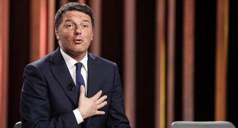 """#Renzi ospite a """"@Mezzorainpiu: Salvini ha fatto il bullo con 629 rifugiati, un milione di \"""