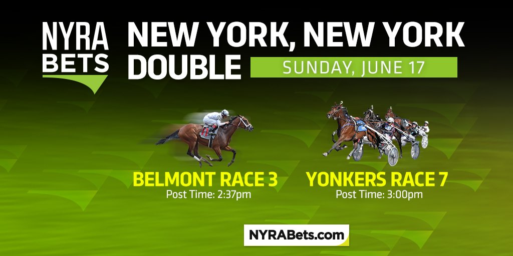 Fathers Day and NY NY Double? Thats a sure win! More info: bit.ly/2tbjGWd