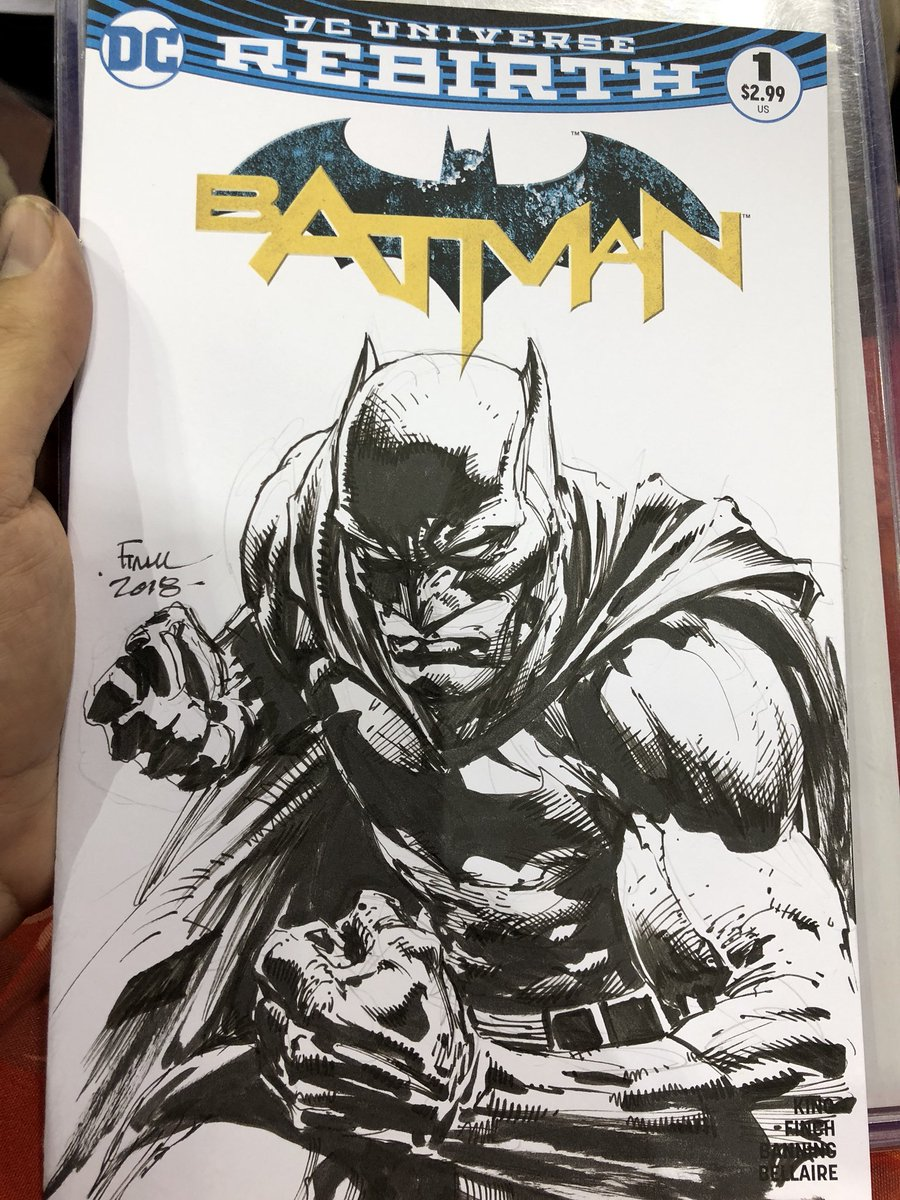 Batman-off with David Finch. As no one can really judge art, we're probably both the winner.