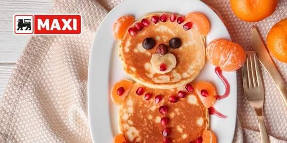 Dan za porodične radosti. :) Vaši mališani biće oduševljeni! Recept za američke palačinke pogledajte na našem sajtu! #maxi #palačinke https://t.co/Q9ESIJkkQB