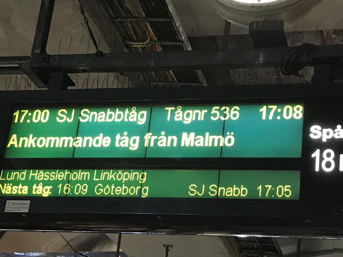 sj ankommande tåg