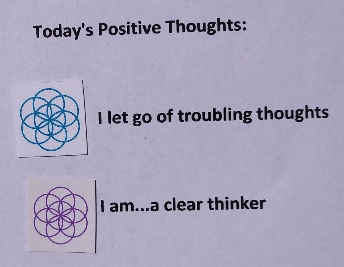 test Twitter Media - Today's Positive Thoughts: I let go of troubling thoughts and I am...a clear thinker. #affirmation https://t.co/ryUhRPqe66