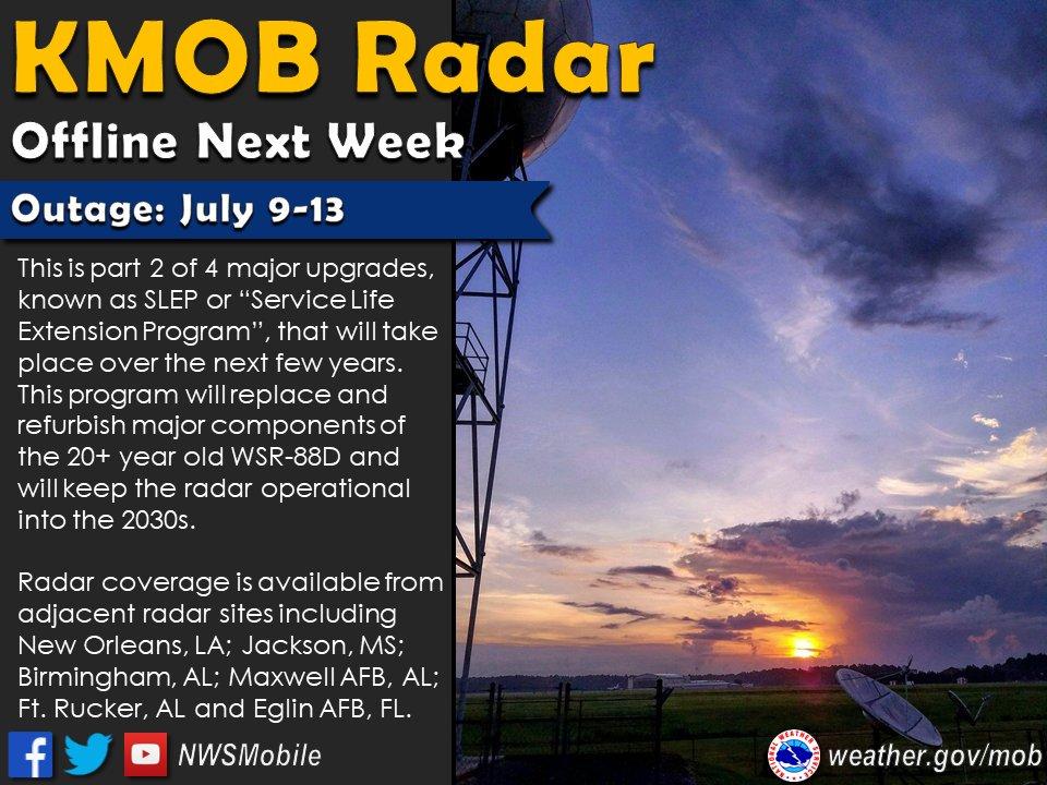 Heads Up Kmob Radar Will Be Offline Next Week For Part 2 Of 4