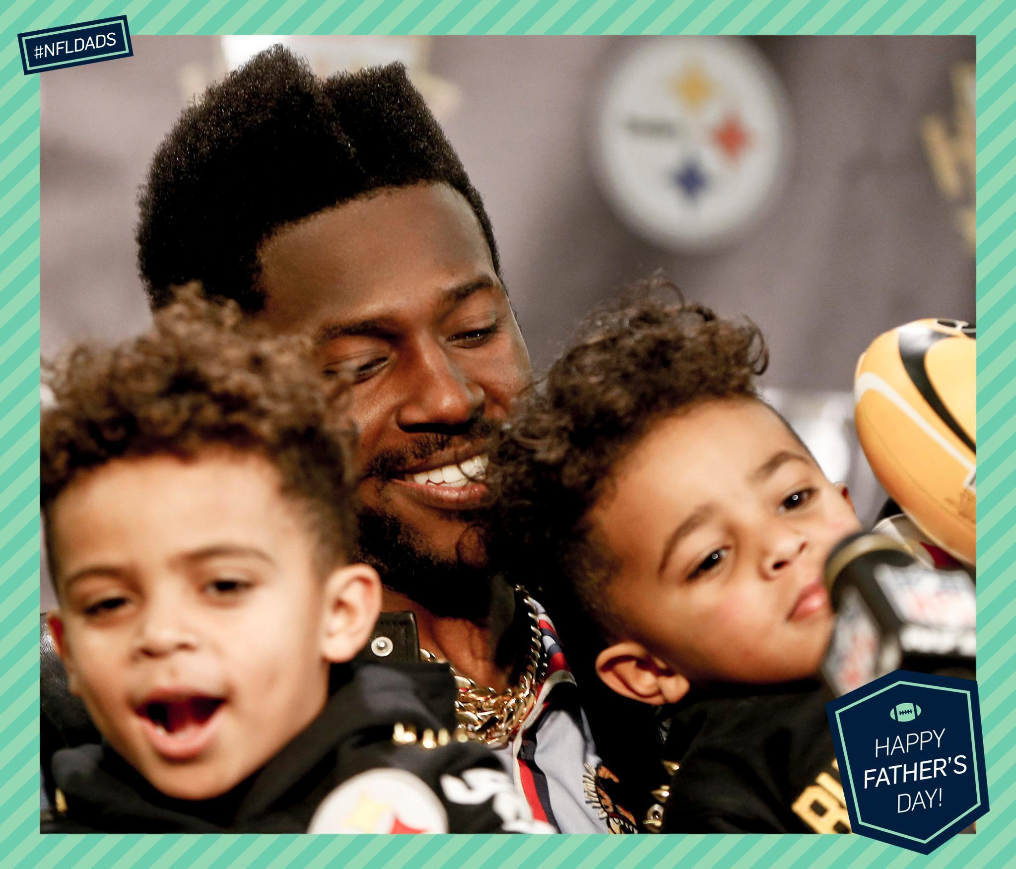 .@AB84 + little ��s!   #FathersDay #NFLDads https://t.co/FeM2N5pMGu