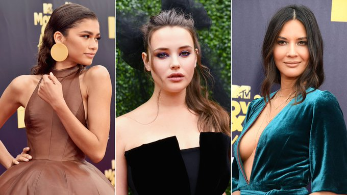 MTV awards 2018: Australia's Katherine Langford stands out in all-black jumpsuit: Photo