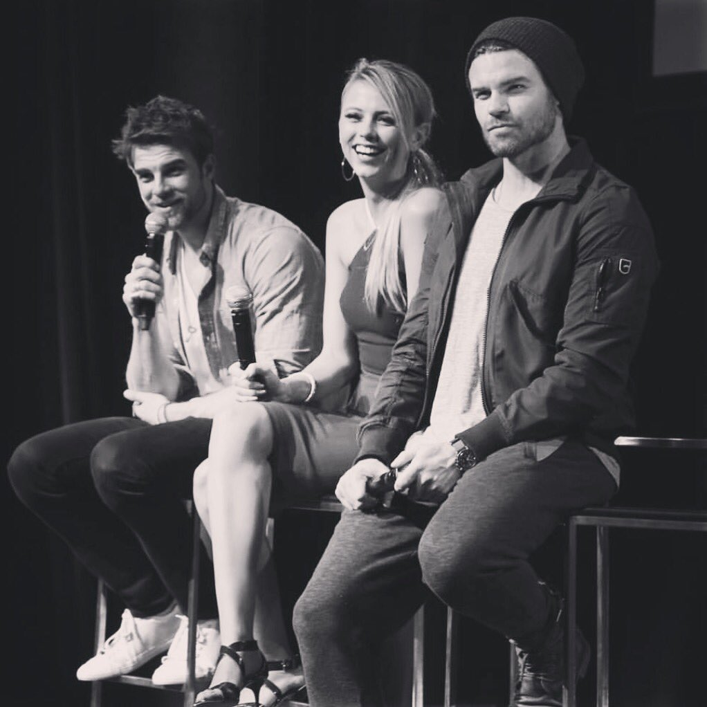 Hey #TheOriginals family! I can't wait to squeeze you all soon in Brussels and Barcelona at #bloodynightcon #bloodynightcon_europe with @klz_events ... Who's joining us?