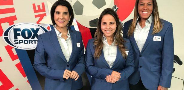 Demorou, mas chegamos   Fox Sports faz 1º jogo do Brasil narrado só por mulheres https://t.co/Gxggmy6VJG