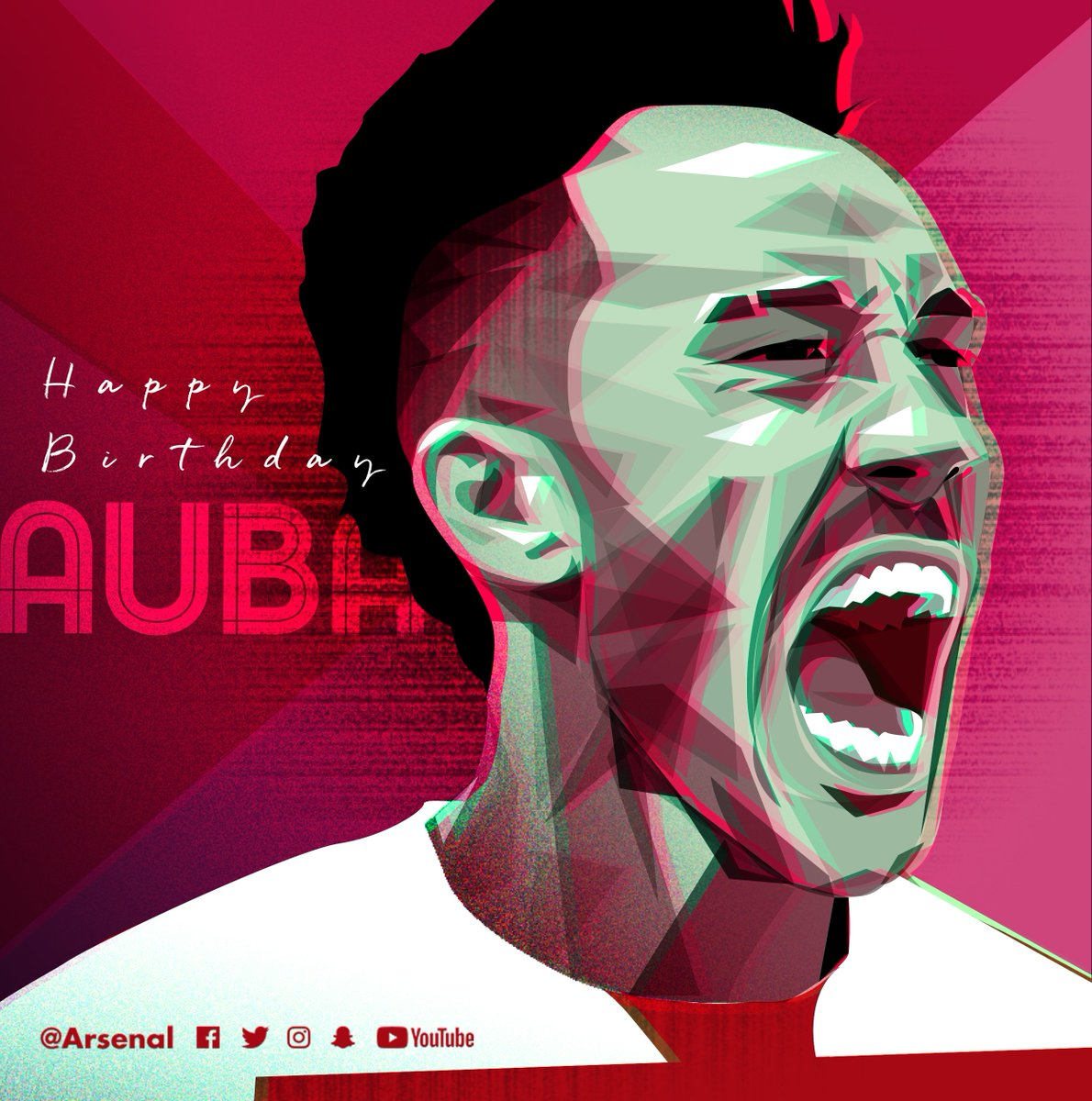 🎈 Everyone at the club would like to wish @Aubameyang7 a very happy 29th birthday 🎉