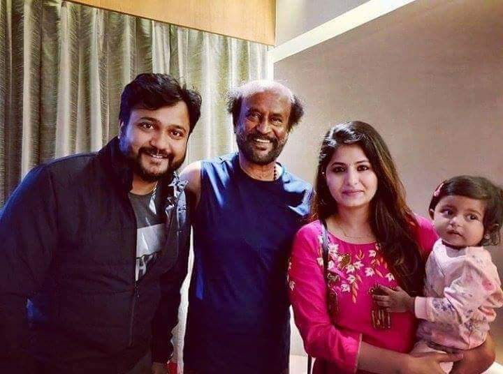 Bobby Simha, Rajinikanth and Reshmi Menon