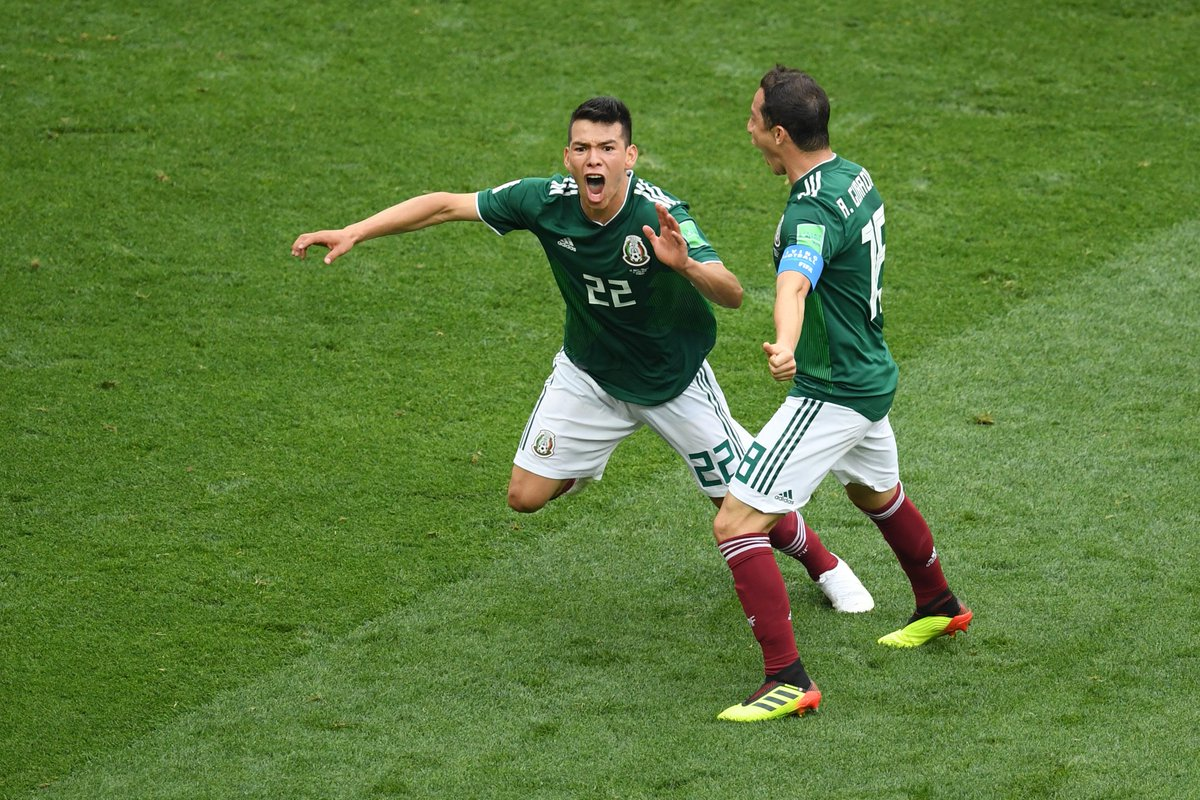 #MEX are the first team to defeat #GER in their opening game of a #World Cup since Algeria in 1982.  36 years ago.