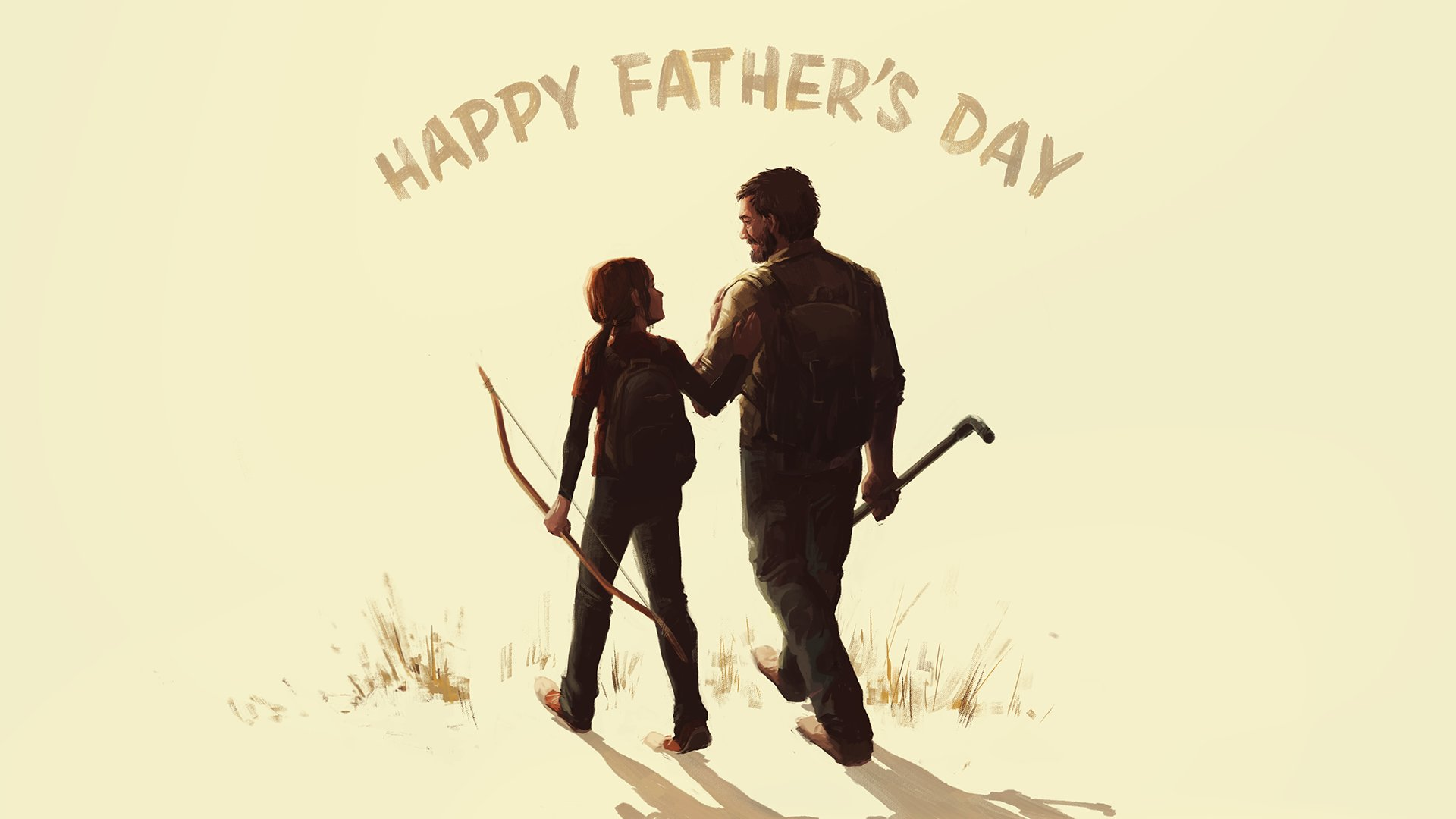 To all those that help us find something to fight for, Happy #FathersDay!   Art by @lilynishita https://t.co/5UCOisRHdv
