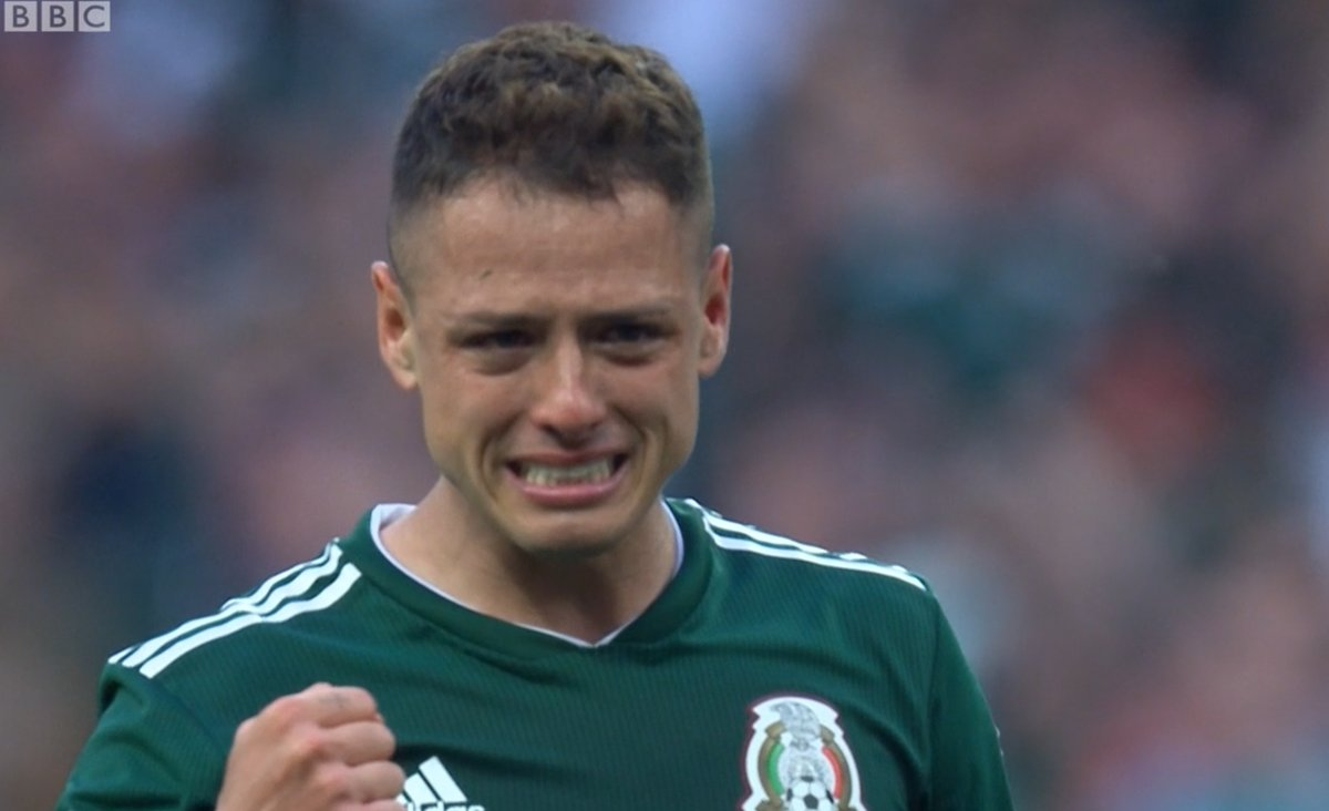 Chicharito just so happy to not be playing for David Moyes right now