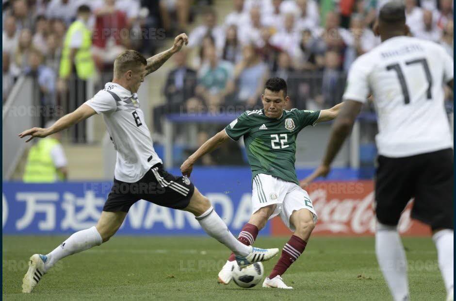 Coupe du monde 2018 | Groupe F : le Mexique fait passer l'Allemagne de l'étoile à la toile https://t.co/A7m3bTRuSN