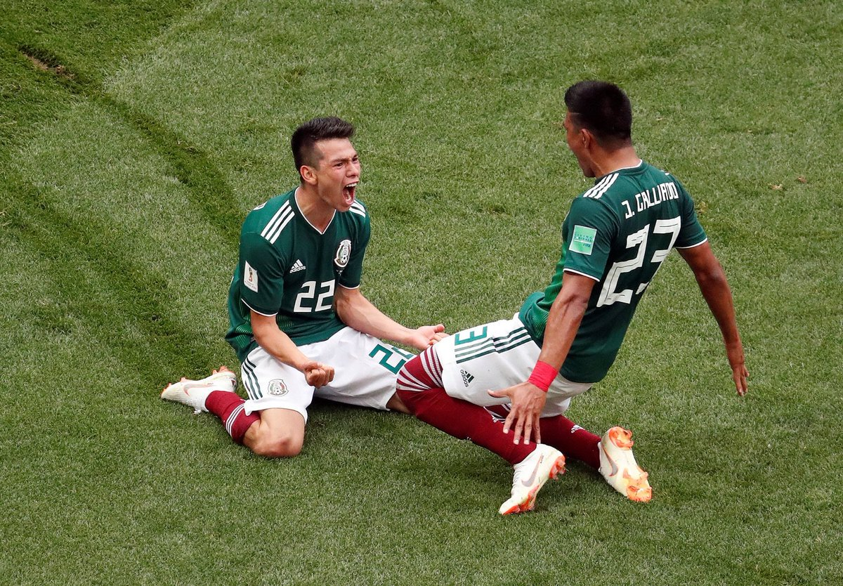 The celebrations for Mexico's goal against Germany caused an earthquake in Mexico City. 😂🇲🇽
