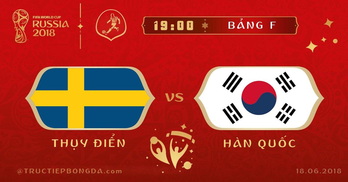 Thụy Điển vs Hàn Quốc