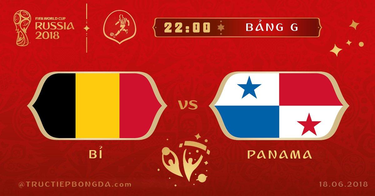 Bỉ vs Panama