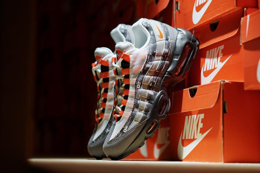 1a1488ea13 Nike Air Max 95 Print Available NOW at selected location & online at  http://shop.exclucitylife.com pic.twitter.com/gnptFOsSe7