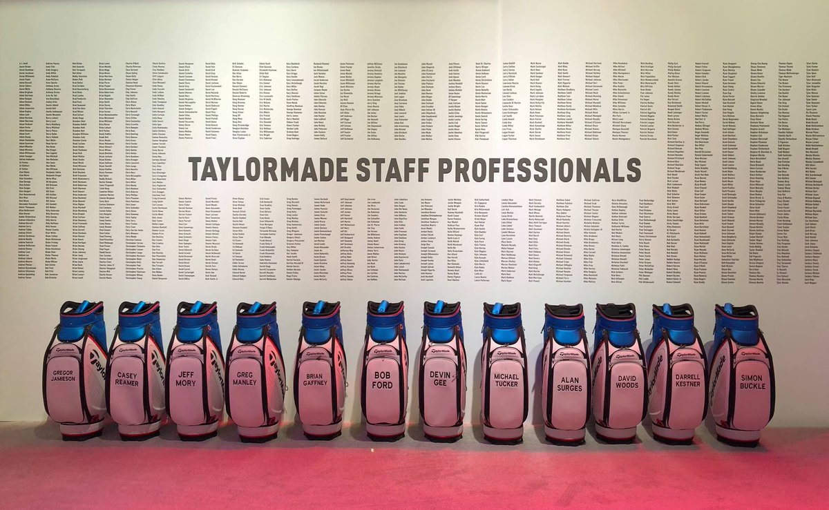 Good luck to all of the #TeamTaylorMade staffers teeing it up in the #PGAProChamp. Play well and go low.