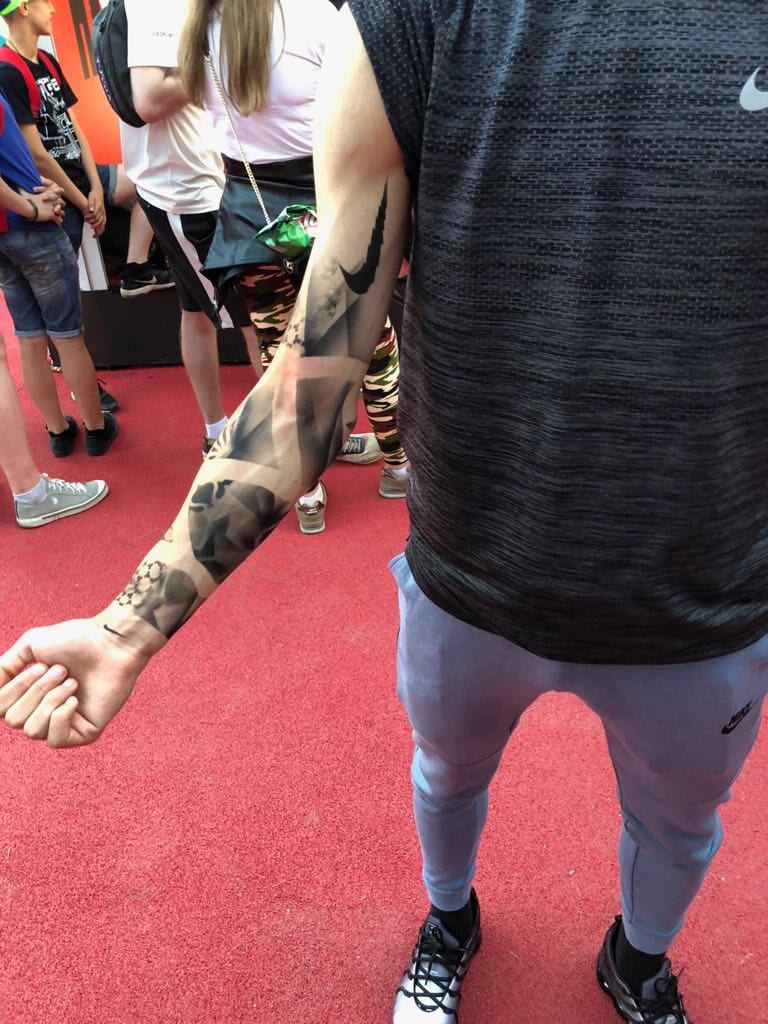 Right lower arm  tattoo