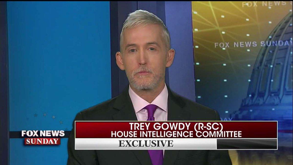 .@TGowdySC on IG report: 'It certainly helps [@realDonaldTrump].' #FoxNewsSunday https://t.co/WSd9wu03YN