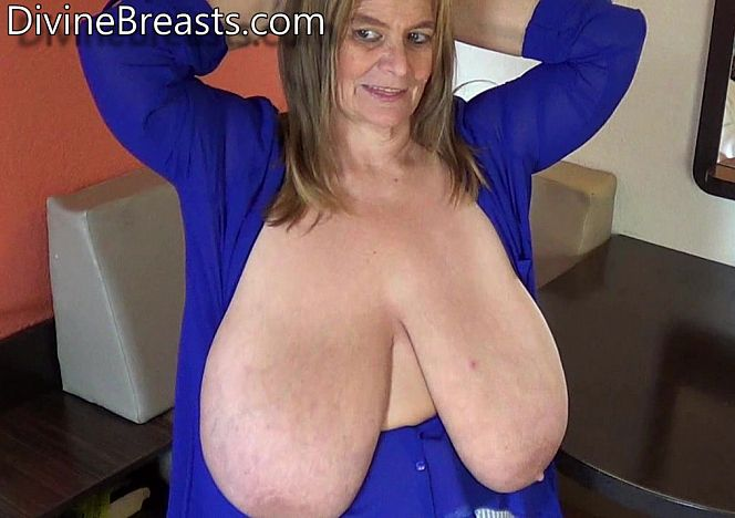 Mature heavy breasts