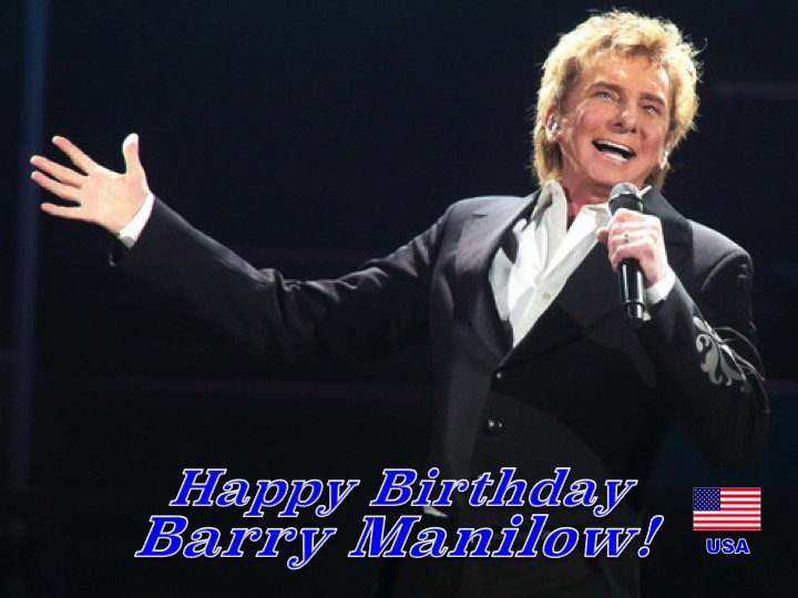 Happy Birthday to Music Legend #BarryManilow! 👏🇺🇸🎶🎹🎤🎂🎉🎁🎈😍🌟💫🎇