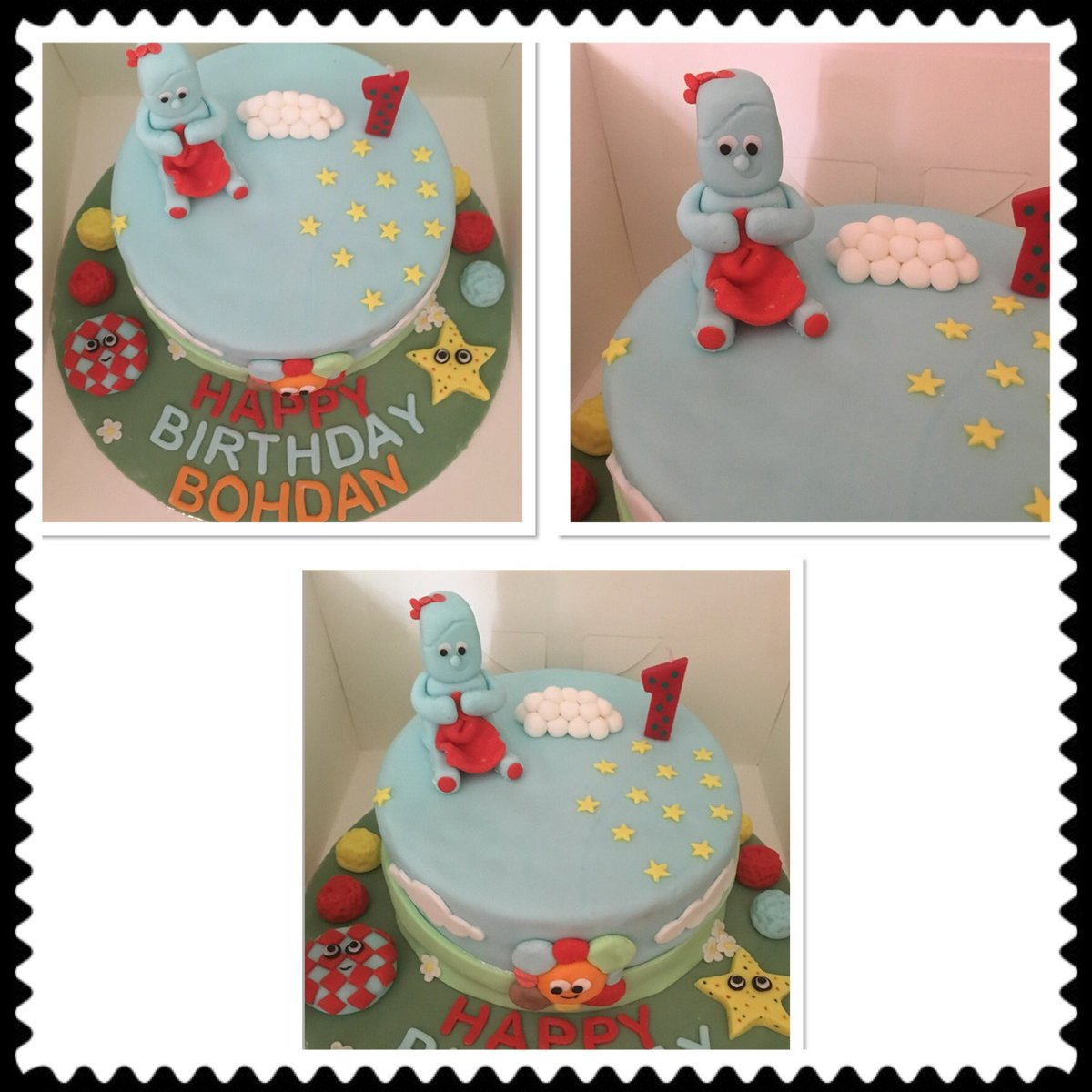 Birthday Cake 50th Woman