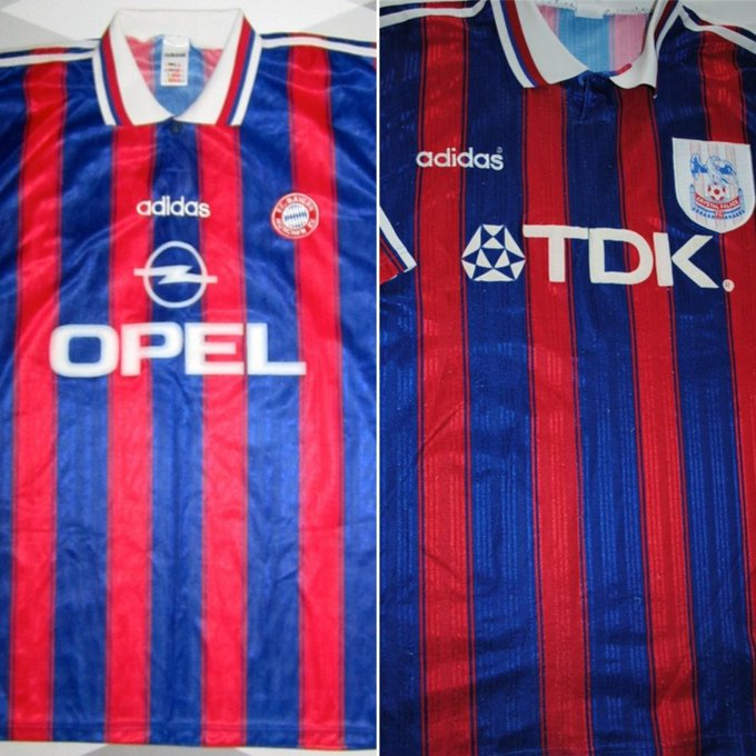 @prodnose The stole the Bayern Munich one for a season too Photo