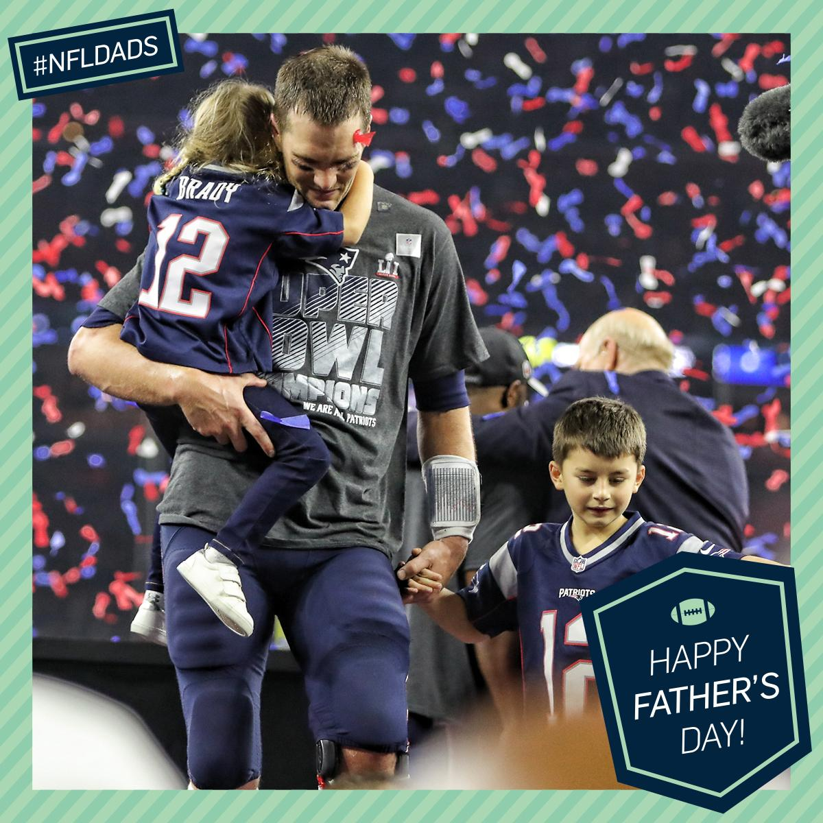 Greatest (dad) of all time. ��  #FathersDay #NFLDads https://t.co/81GUP6tg0U