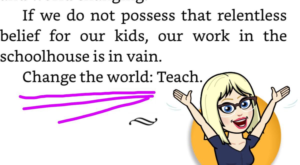 Believe in kids. Change the world!:Teach #ThePepperEffect #BookSnaps @smgaillard @noasbobs