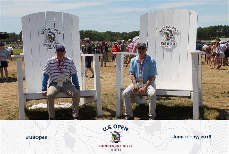 Fun at US Open. #USOpengolf #USOpen #Sweepstakes https://t.co/Hx4KafCEje