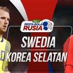 Swedia vs Korea Selatan Twitter Photo