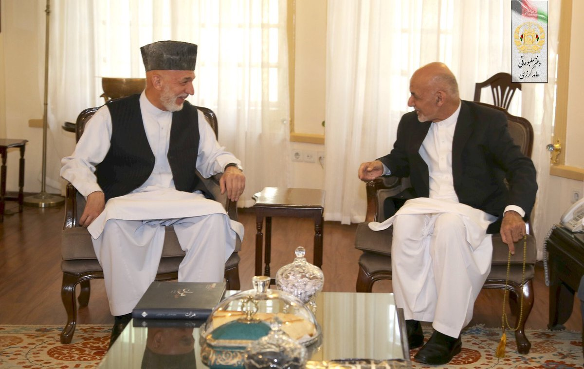 Pleased to exchange Eid greetings with President @ashrafghani. Discussed the cease-fire and wished for its extension leading to peace for the people of Afghanistan.