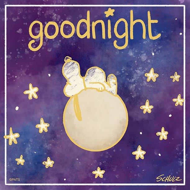 Peanuts On Twitter Goodnight Sunday