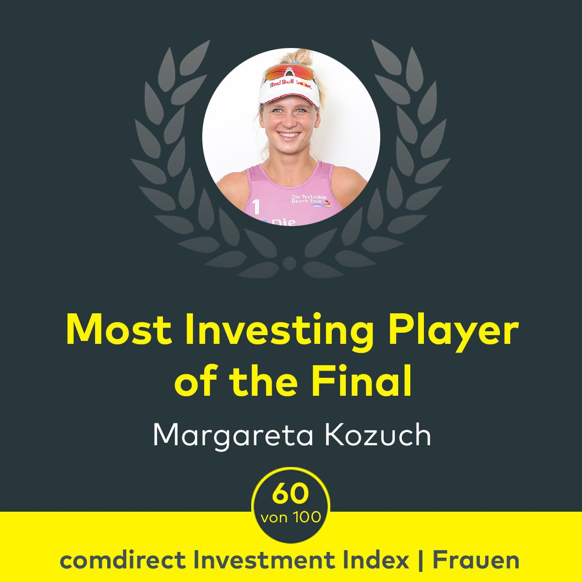 "Super Leistung @maggiekozuch! Gratulation zum Titel ""Most Investing Player of the Final und zum 🥇 bei der #TBTDresden. /CK @Borger_Kozuch #TechnikerBeachTour #beachvolleyball #beachvolleybank #volleyballneudenken https://t.co/ur7FjL5uDP"