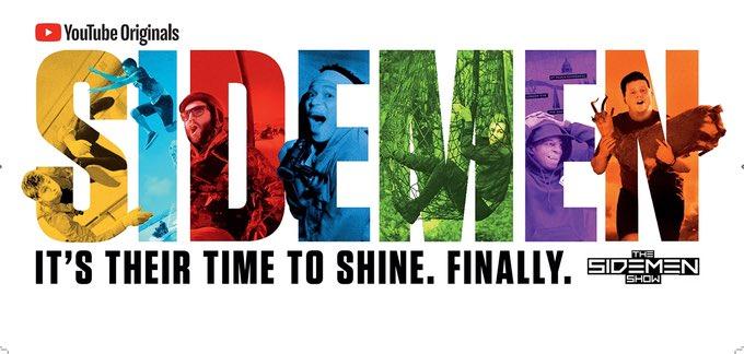 The #SidemenShow is dropping tomorrow! Watch at youtube.com/Sidemen 🙌🏽