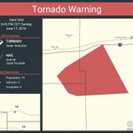 Image for the Tweet beginning: Tornado Warning including Lincoln County,