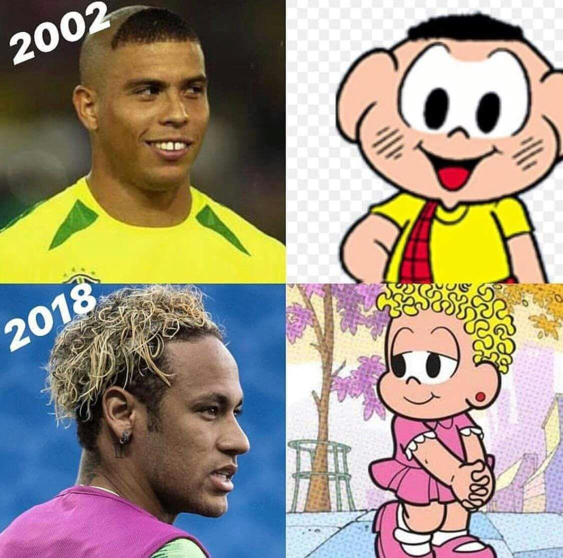 As Memes estão mais rápidas que as quedas de Neymar!