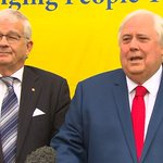 Image for the Tweet beginning: BREAKING: @CliveFPalmer has announced Senator