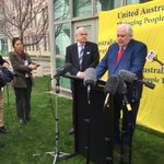 Image for the Tweet beginning: Clive Palmer's press conference ends