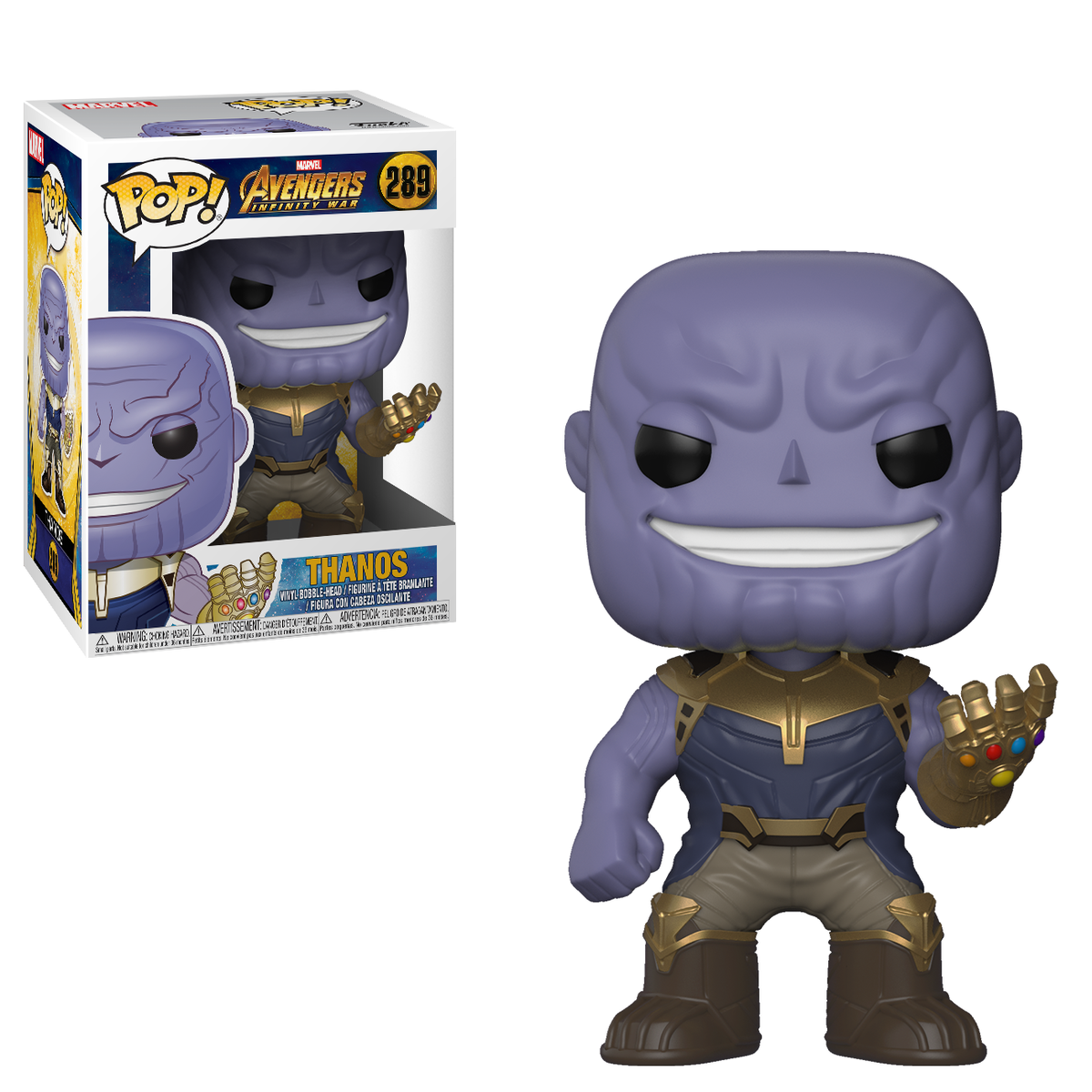 RT & follow @OriginalFunko for the chance to win a Thanos Pop! #FathersDay