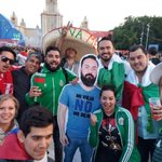 Image for the Tweet beginning: A group of Mexican fans