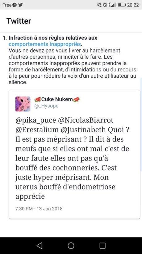 Tanx On Twitter Pendant Ce Temps La Un Compte Que J Ai Signale
