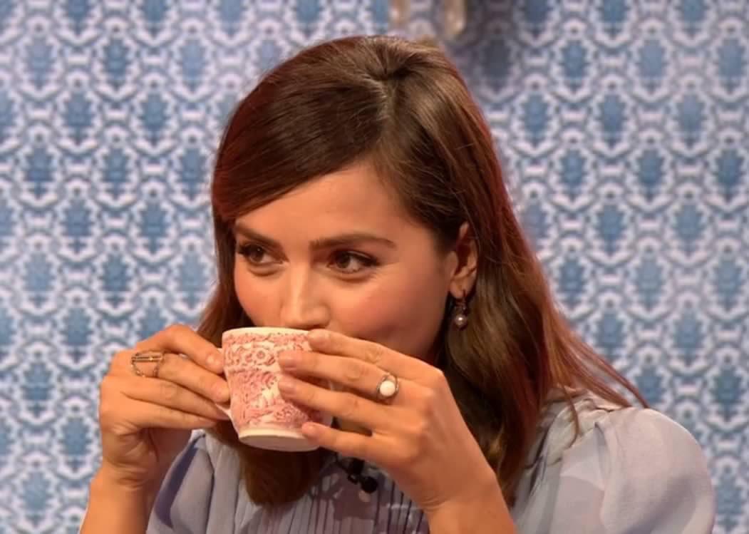 Image result for jenna coleman tea